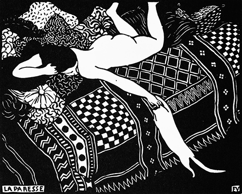 La Paresse Félix Vallotton (1865-1925)