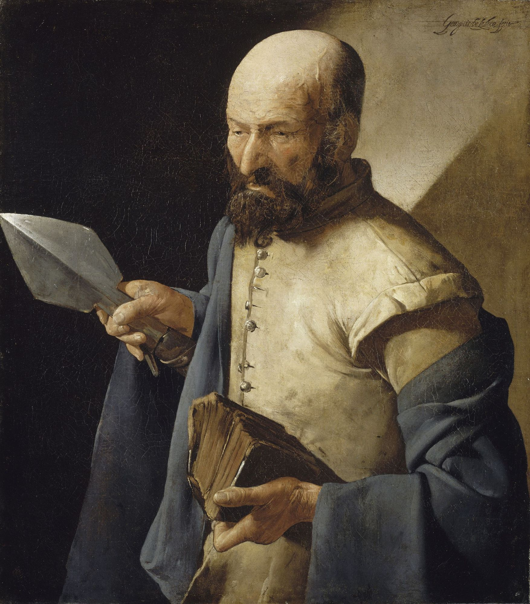 Saint Thomas à la pique Georges de La Tour (1593-1652)