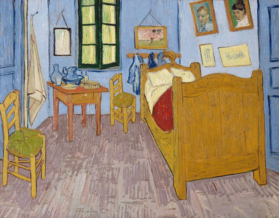 la chambre de van gogh arles panorama de l 39 art. Black Bedroom Furniture Sets. Home Design Ideas