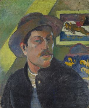 Portrait de l'artiste, Paul Gauguin