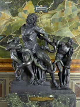 Le Laocoon Hagesandros, Polydoros et Athanadoros, fontainebleau